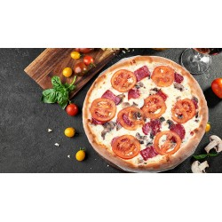 """піца """"Салямі і Фунги"""""""